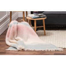 Foxford Stripe Pink/Bone Throw
