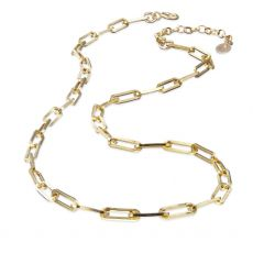 Scribble & Stone 14kt GoldFill Heavy Paperclip Chain Necklace