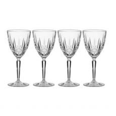 Waterford Crystal Sparkle Wine Set of Four Glasses