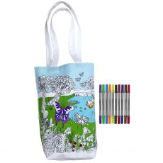 Eat Sleep Doodle Butterfly Tote