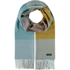 Fraas Check Blue Scarf