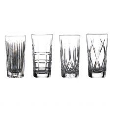 Waterford Crystal Olann Hi Ball Set Of 4