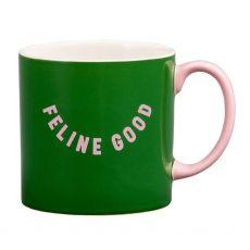 Wild & Woofy Feline Good mug
