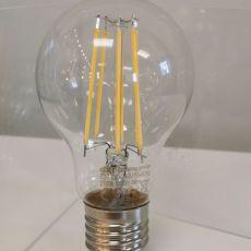 Bulb LED E27 A60 6W, clear, 720lm, 3000k (for use with GCL02) NEW