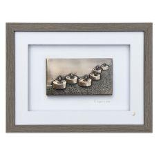 Wild Goose To Light A Path Bronze Frame