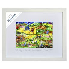 """Simone Walsh A Day Out in the Irish Countryside Small Frame 10"""" x 8"""""""