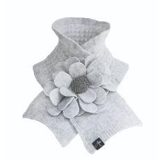 McConnell Woollen Mills Floral Grey Collar