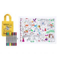 Eat Sleep Doodle Placemat to go Fairytales & Legends