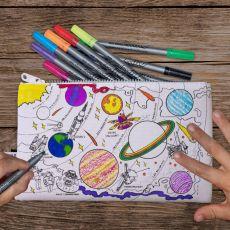 Eat Sleep Doodle Space Explorer Pencil Case