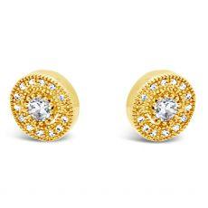 Absolute Gold Vintage Earrings