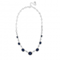 Absolute  Short Oval Stone Necklace
