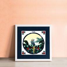 Alanna Plekkenpol Chatterbox Single Framed Tile