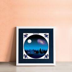 Alanna Plekkenpol Once in a blue moon Single Framed Tile