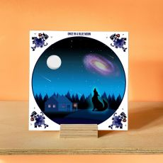Alanna Plekkenpol Once In A Blue Moon Single Tile With Hanging System