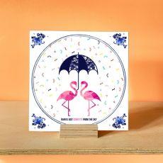 Alanna Plekkenpol Rain Is Just Confetti Single With Hanging Disc