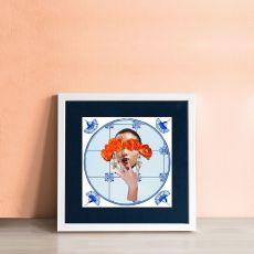 Alanna Plekkenpol Rose-tinted Glasses Single Framed Tile