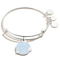 Alex and Ani Happily Ever After Silver Bangle