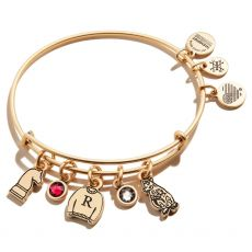Alex and Ani Harry Potter Ron Character Gold Bangle