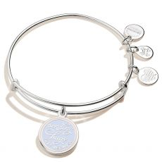 Alex and Ani Sending Hugs Just Because Silver Bangle
