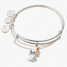 Alex and Ani Thanks a Bunch Silver Bangle