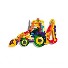 Alphabet Jigsaws Backhoe Jigsaw