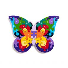 Alphabet Jigsaws Butterfly Jigsaw