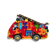 Alphabet Jigsaws Fire Engine Jigsaw