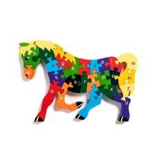Alphabet Jigsaws Horse Jigsaw