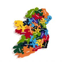 Alphabet Jigsaws Map of Ireland Jigsaw