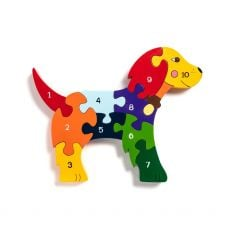 Alphabet Jigsaws Number Dog Jigsaw