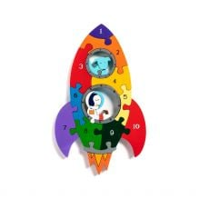 Alphabet Jigsaws Number Rocket Jigsaw