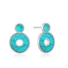 Ania Haie Turquoise Disc Ear Jackets