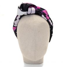 Aoife Harrison Design Black Butterfly Headband front