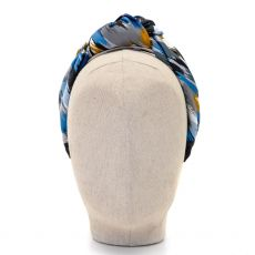 Aoife Harrison Design Blue/Navy/Grey Headband  front