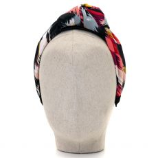 Aoife Harrison Design Coral/Red/Grey Headband