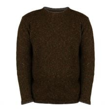 Aran Loden Green Roundstone Sweater
