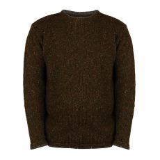 Aran Loden Green Roundstone Sweater