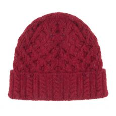 Aran Luxe Bramble Berry Hat |