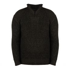 aran-reefer-graphite-zip-neck-sweater