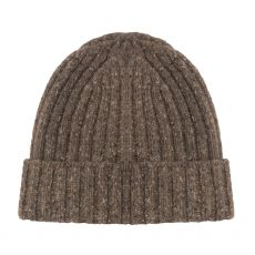 Aran Ribbed Rocky Ground Gents Hat