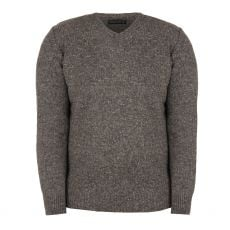 Aran Woodford Storm Mist Grey Sweater