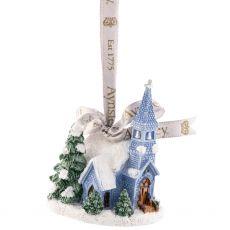 Aynsley Church Hanging Ornament