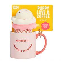 Wild & Woofy Mug and Dog Toy - Ice Cream