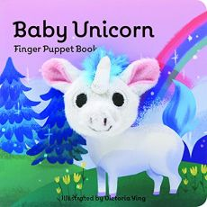Unicorn Finger Puppet Book
