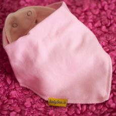 Babyboo Baby Pink Bib