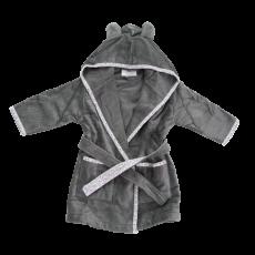 Babyboo Grey Ellie Elephant Robe