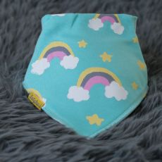 BabyBoo Painted Rainbow Bib