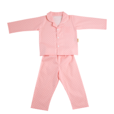 Babyboo Pink Starry Night Pyjamas