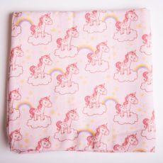 Babyboo Pink Unicorns Muslin