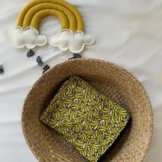 Stork & Co Banana Organic Cotton Blanket